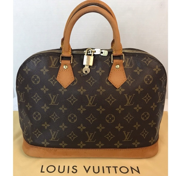 Louis Vuitton Handbags - 🌺CERTIFIED AUTH. Louis Vuitton Monogram Alma Bag